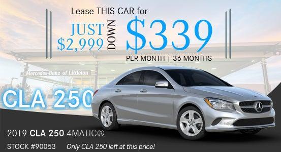 New Mercedes Benz Specials Near Denver Mercedes Benz Of Littleton